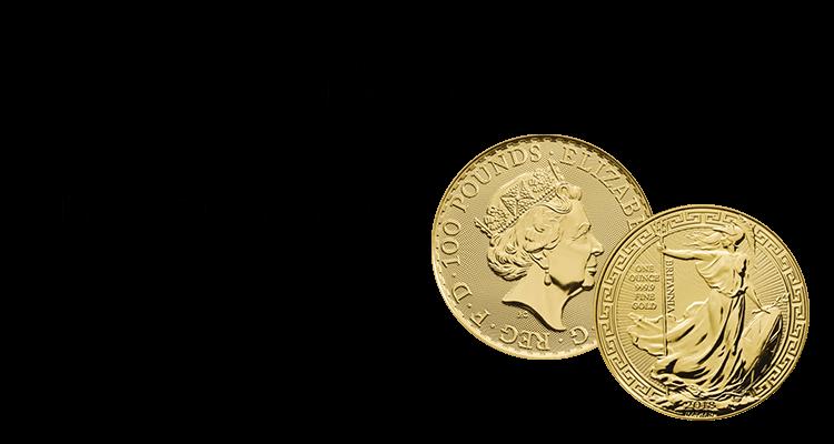 ブリタニア金貨買取の買取情報や価値、概要をご紹介