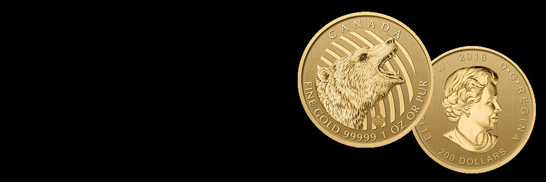 カナダ野生動物金貨買取の買取情報や価値、概要をご紹介