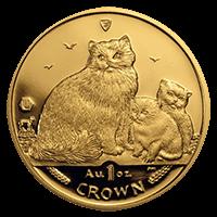 収集型金貨:マン島キャット金貨