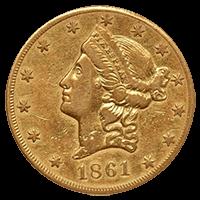 アンティーク金貨:リバティ金貨