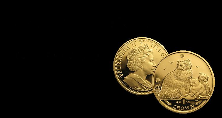 マン島キャット金貨買取の買取情報や価値、概要をご紹介