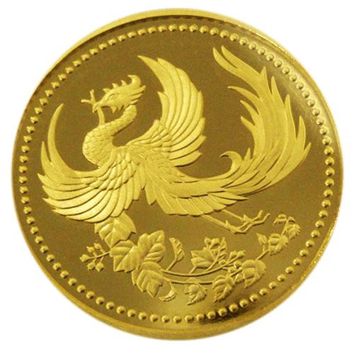 天皇陛下御在位10年記念1万円金貨