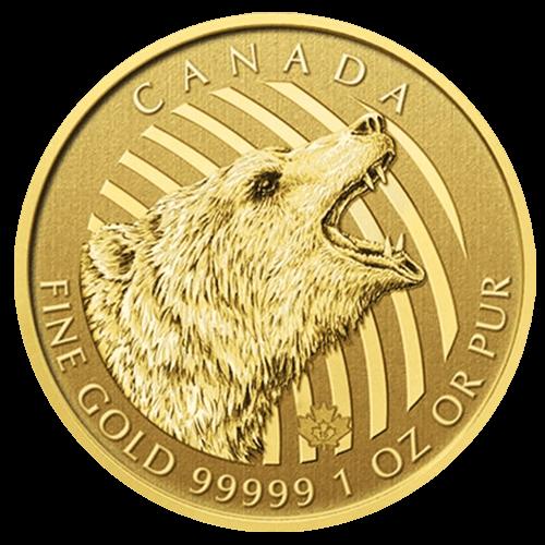 カナダ野生動物金貨