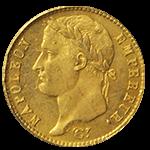 ナポレオン金貨表面