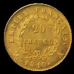 ナポレオン金貨裏面