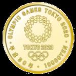 第1次東京2020オリンピック競技大会記念1万円金貨裏面