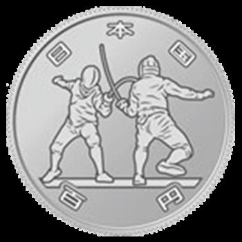 東京2020オリンピック競技大会記念硬貨・第一次(100円)
