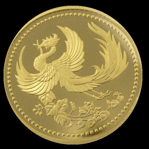 天皇陛下御在位10年記念硬貨(1万円)