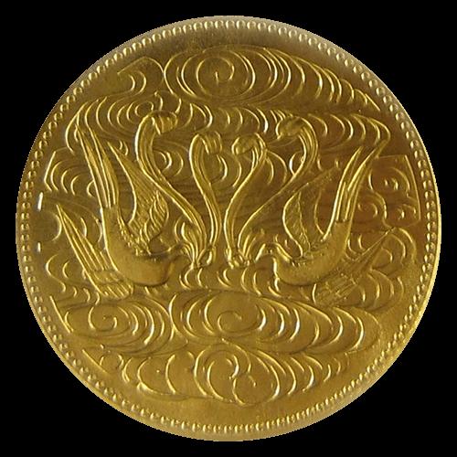 天皇陛下御在位60年記念硬貨(10万円)