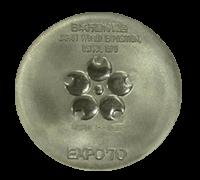 万博記念メダル(プラチナメダル)