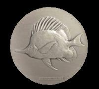 沖縄国際海洋博覧会記念メダル(銀メダル)
